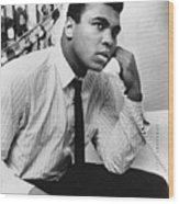 Muhammad Ali (1942- ) Wood Print by Granger