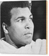 Muhammed Ali (b. 1942) Wood Print by Granger