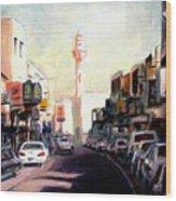 Muharraq Souq 1 Wood Print