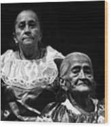 Mujeres Salvadorenas  Wood Print