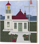 Mukilteo Light Wood Print