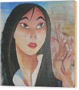 Mulan Wood Print