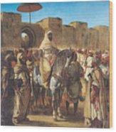 Muley Abd Ar Rhaman  Wood Print