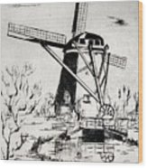 Mulino Wood Print