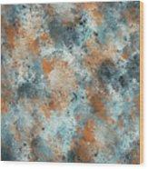 Multicolor Texture 001 Wood Print