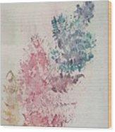 Multicolour Fern Wood Print