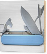Multipurpose Penknife Wood Print