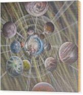 Multiverse 582 Wood Print