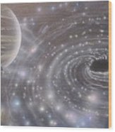 Multiverse 584 Wood Print
