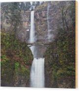 Multnomah Falls 3 Wood Print
