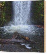 Multnomah Falls 5 Wood Print
