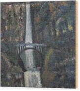 Multnomah Falls, Oregon Wood Print