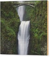 Multnomah Falls, Oregon, Usa Wood Print