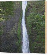 Multnomah Falls Wf1039 Wood Print