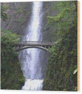 Multnomah Falls Wf1051a Wood Print