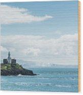 Mumbles Lighthouse 2 Wood Print