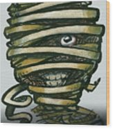 Mummy  Wood Print