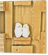 Mummy's Return Wood Print