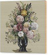 Mums Bouquet Wood Print