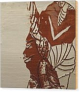 Mums Love - Tile Wood Print