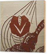 Mums Sweetheart - Tile Wood Print