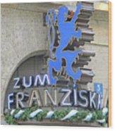 Munich Detail 2 Wood Print