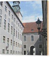 Munich Detail 8 Wood Print
