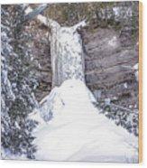 Munising Fall Michigan Wood Print