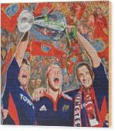 Munster Heiniken Cup Winners 2008 Wood Print
