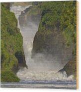 Murchison Falls, Uganda Wood Print