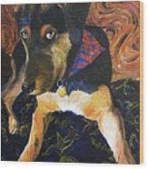 Murphy I Wood Print