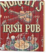 Murphy's Irish Pub - Sonoma California - 5d19290 Wood Print