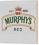 Murphys Irish Red Wood Print