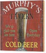 Murphy's Tavern Wood Print