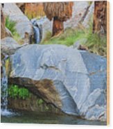 Murray Canyon Falls Wood Print