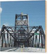 Murray Morgan Bridge, Tacoma, Washington Wood Print