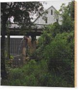 Murray's Mill Wood Print by MW Robbins