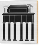 Museo Del Prado Wood Print
