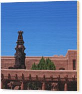 Museum Of Indian Arts And Culture Santa Fe Wood Print