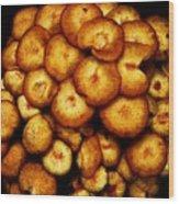 Mushroom Hug Wood Print
