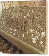 Music Holder Wood Print