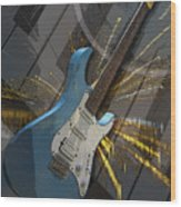 Musical Poster Wood Print