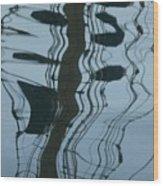 Musical Reflection Wood Print