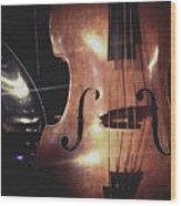 Musical Talent Wood Print