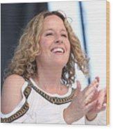 Musician Amy Helm Wood Print