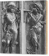 Musician Angels, C1450 Wood Print
