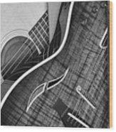 Musicians Friend Wood Print