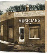 Musicians Local 67 Wood Print