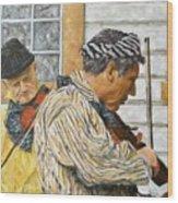 Musicians Wood Print