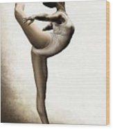 Musing Dancer Wood Print